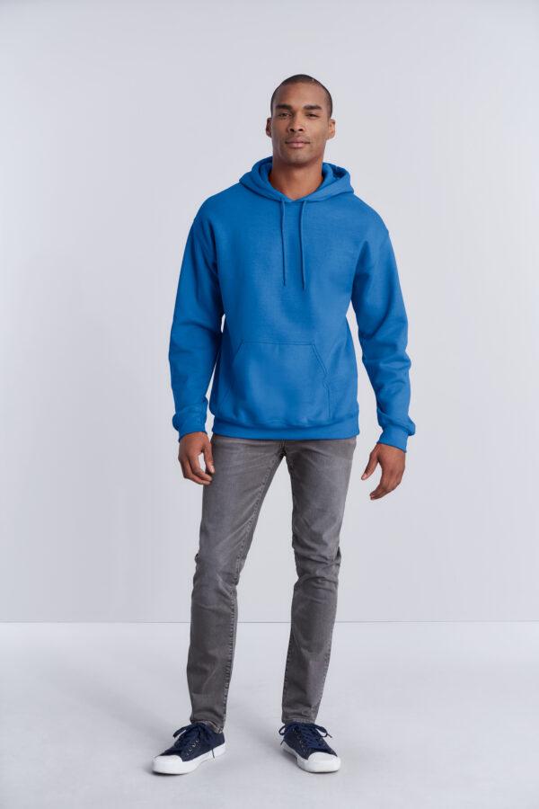 Custom Hoodie 18500_7686C Royal